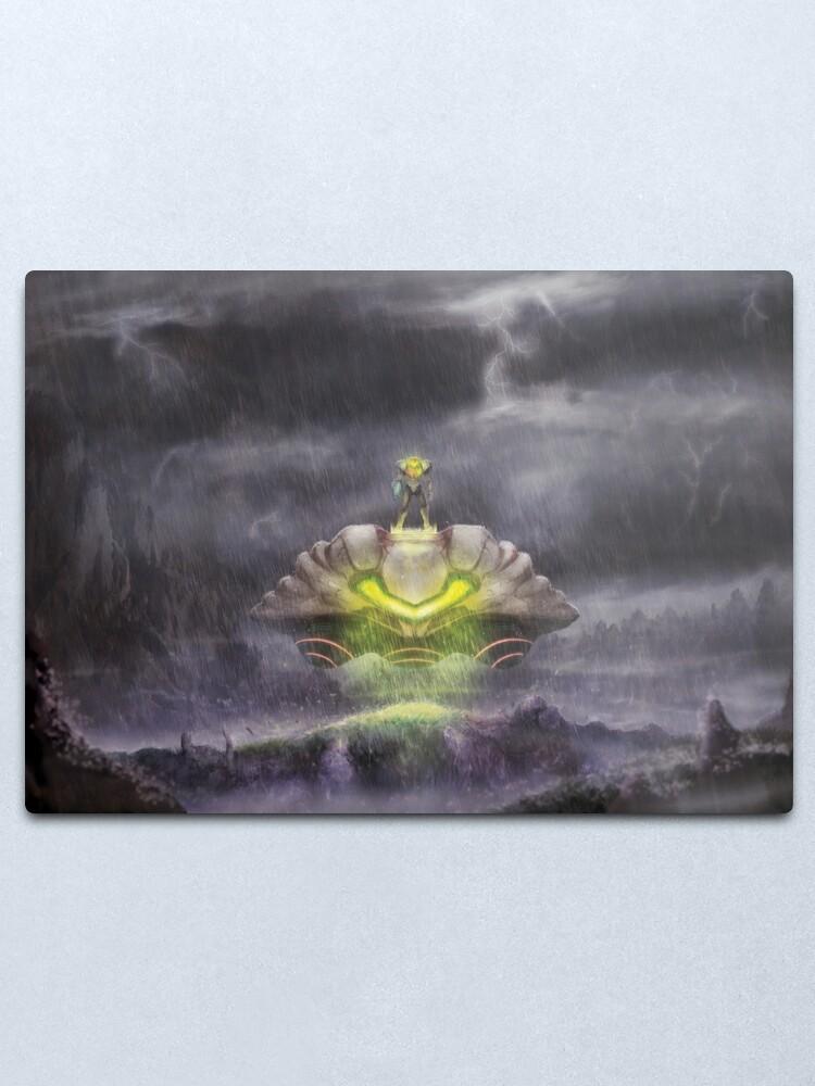 Alternate view of Electric Sky  Metal Print