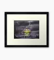 Electric Sky  Framed Print