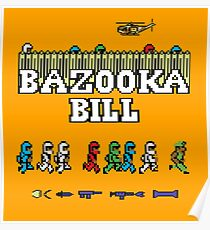 Gaming [C64] - Bazooka Bill Poster