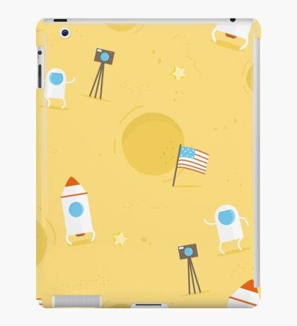 Moon Mission iPad Case/Skin