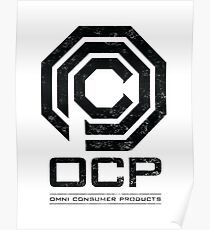 Robocop - OCP Omni Consumer Products Distressed Variant Poster
