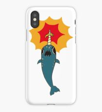 Pizza Narwhal iPhone Case