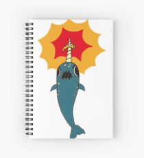 Pizza Narwhal Spiral Notebook