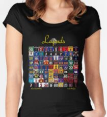 Basketball Legends Women's Fitted Scoop T-Shirt