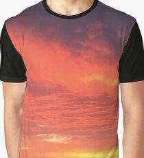 Sunset 3 Graphic T-Shirt