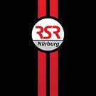 RSRNürburg Classic Logo - Red Stripes by rsrnurburg