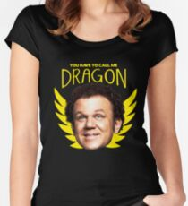 Step Brothers Dragon Women's Fitted Scoop T-Shirt
