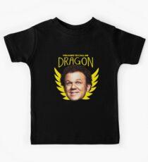 Schritt Brüder Drachen Kinder T-Shirt
