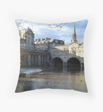 Bath - England Throw Pillow