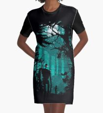 Looking at the stars Graphic T-Shirt Dress