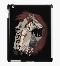 Keepers of the forest mononoke iPad Case/Skin