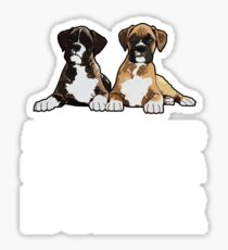Boxer Dog Funny Design - All You Need Is Love And A Boxer Sticker