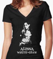 ALISSA WHITE-GLUZ Women's Fitted V-Neck T-Shirt