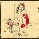 """""""Flower Girl""""  by Anna Miarczynska"""