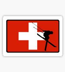 Ski Patrol Sticker