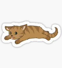 Tired Kitten Sticker