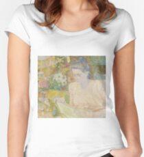 Jan Toorop - Portrait Of Marie Jeanette De Lange Women's Fitted Scoop T-Shirt