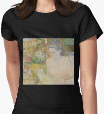 Jan Toorop - Portrait Of Marie Jeanette De Lange Womens Fitted T-Shirt