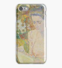 Jan Toorop - Portrait Of Marie Jeanette De Lange iPhone Case/Skin