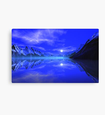 Thor's Fiord. Canvas Print