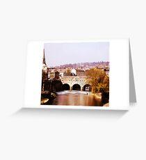bath bridge Greeting Card