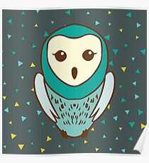 Cynical Owl Poster