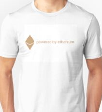 powered by ethereum Unisex T-Shirt