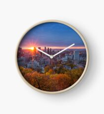 Montreal Sunshine Clock