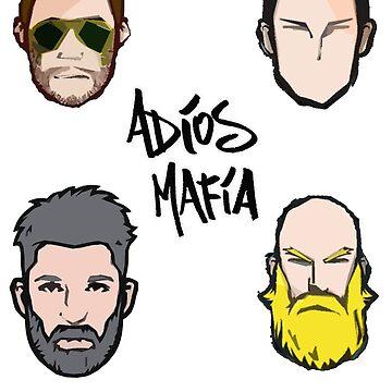 Adios Mafia Cartoon line-up by AdiosMafia