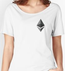 ethereum icon pocket Women's Relaxed Fit T-Shirt