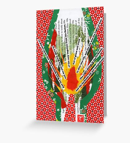 Light of Men Greeting Card