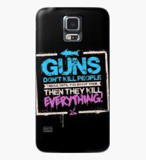 Funda/vinilo para Samsung Galaxy Las armas no matan a las personas
