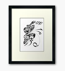 Scary Monster  Framed Print