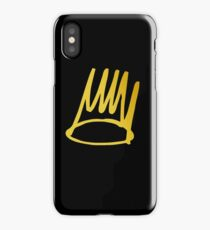 sinner gold iPhone Case