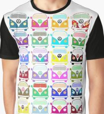 Volkswagen Kombi- Collage Graphic T-Shirt