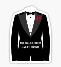 The Name's Bond, James Bond Sticker