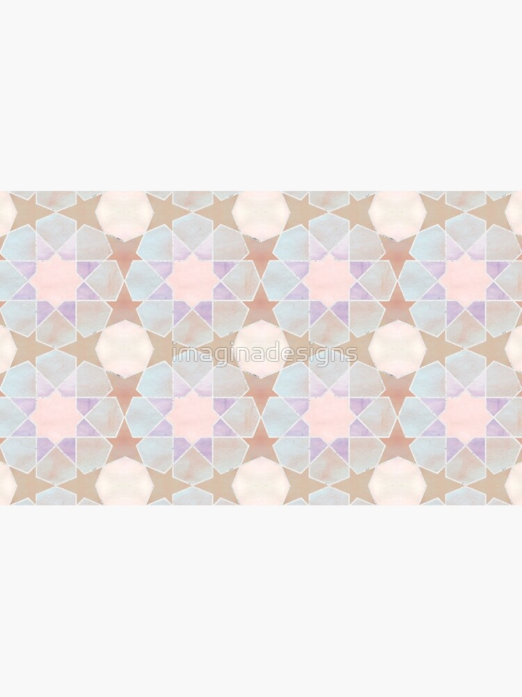 Kairouan pink tiles de imaginadesigns