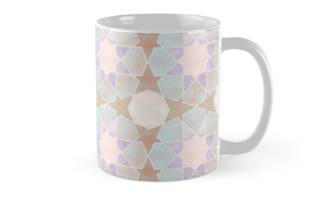 «Kairouan pink tiles» de imaginadesigns
