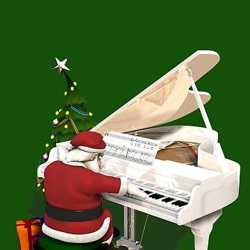 Santa Claus Piano Player by Mythos57