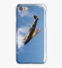 Spitfire EN152 above clouds iPhone Case/Skin