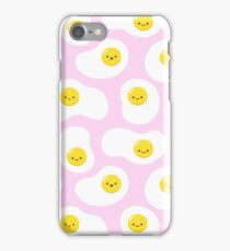 Cute Fried Eggs Pattern iPhone Case/Skin