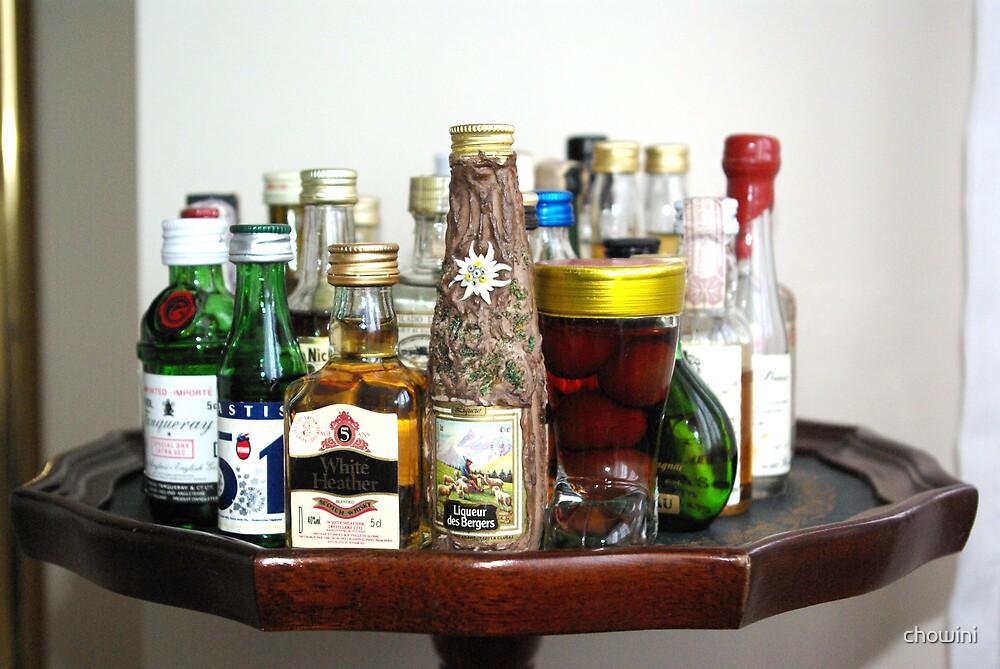 Mini Bottles by chowini