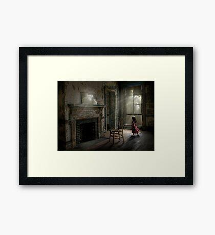 Grandmother's house Framed Print