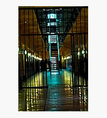 illuminated gaol Photographic Print