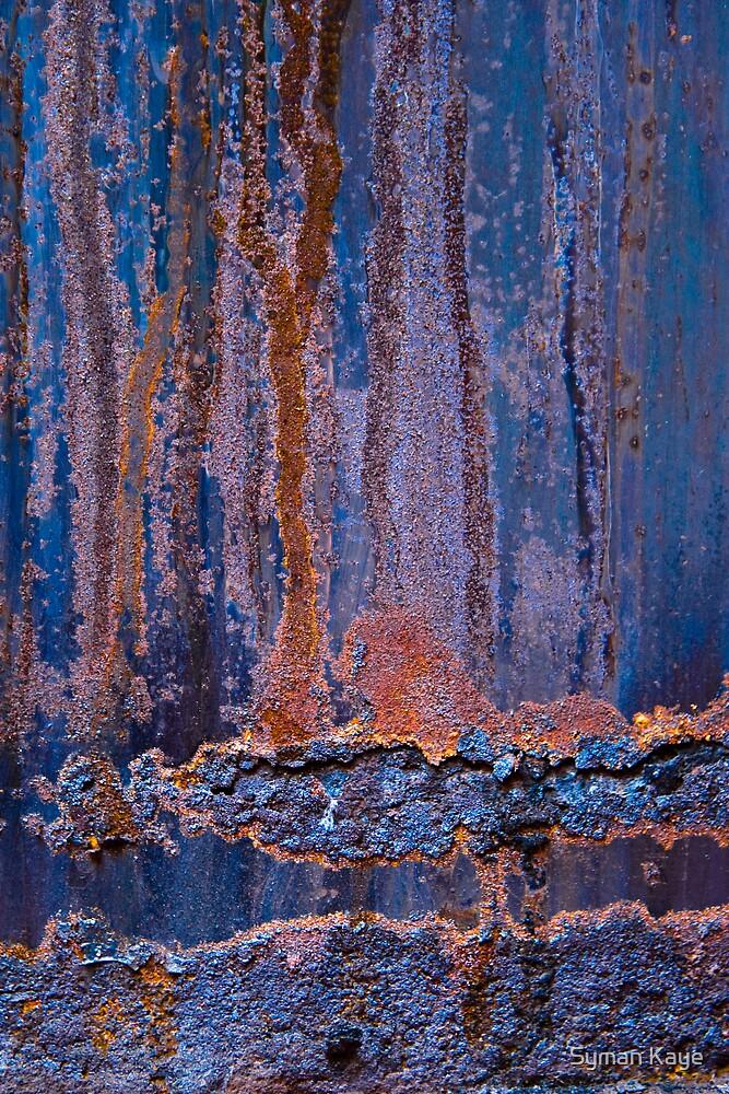 Blue Rust #1 by syman