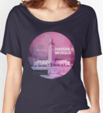 HASSAN II MOSQUE Women's Relaxed Fit T-Shirt