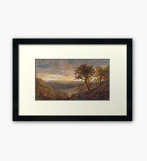 Jasper Francis Cropsey - Greenwood Lake Framed Print