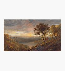 Jasper Francis Cropsey - Greenwood Lake Photographic Print