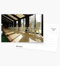 Poolside Symmetry Postcards