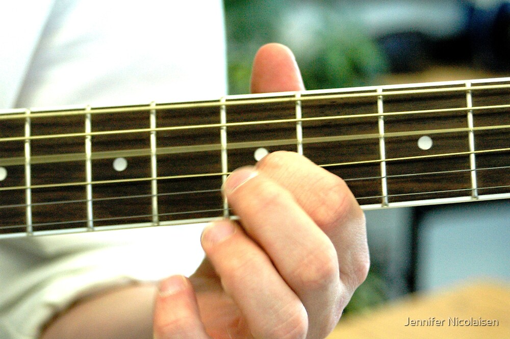 Fingers on a Fretboard by Jennifer Nicolaisen